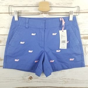 Vineyard Vines | Marlin Whale Embroidered Shorts
